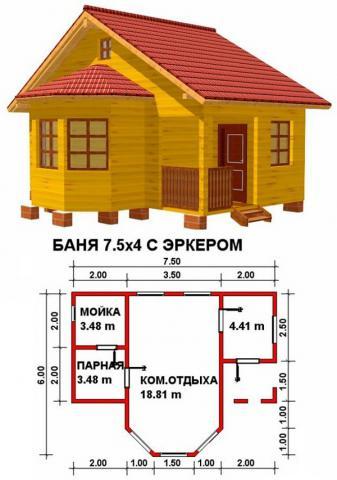 Баня под ключ во Владимире. Цена: 635 000 рублей