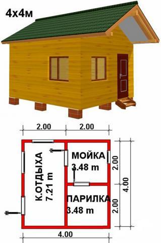 Баня под ключ во Владимире. Цена: 270 000 рублей