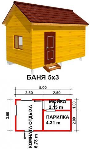 Баня под ключ во Владимире. Цена: 260 000 рублей