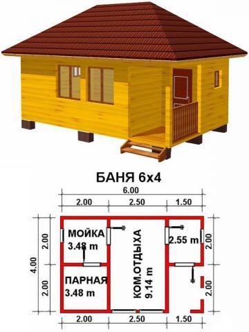 Баня под ключ во Владимире. Цена: 410 000 рублей