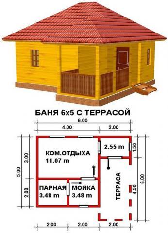 Баня под ключ во Владимире. Цена: 515 000 рублей