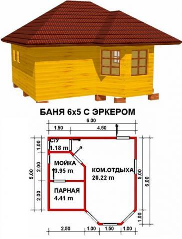 Баня под ключ во Владимире. Цена: 575 000 рублей