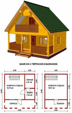 Баня под ключ во Владимире. Цена: 805 000 рублей