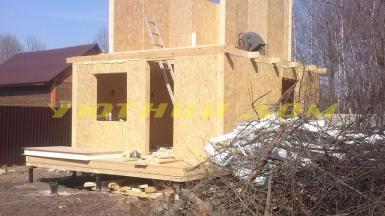 Строительство дома из СИП панелей в г. Александров Владимирской области