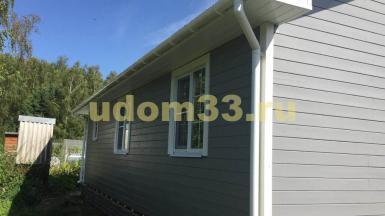 Строительство каркасного дома в д. Александровка Озёрского района Московской области