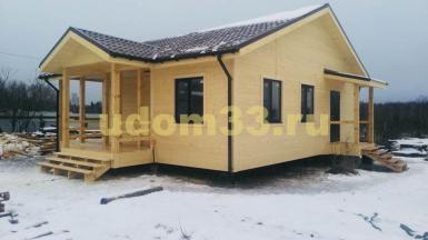 Строительство каркасного дома в посёлке Арсаки Александровского района Владимирской области