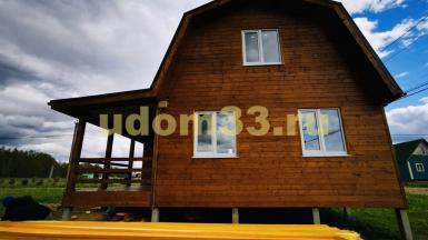 Строительство каркасного дома в посёлке Арсаки Владимирской области
