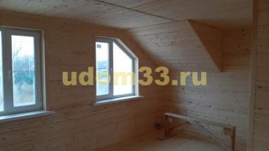 Строительство каркасного дома в посёлке Бавлены Кольчугинского района Владимирской области