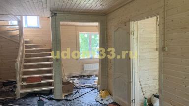 Строительство каркасного дома в деревне Белое Озеро Воскресенского района Московской области
