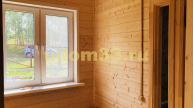 Строительство каркасного дома в деревне Беречино Кольчугинского района Владимирской области