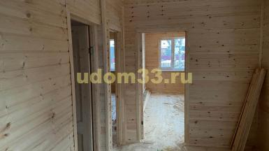 Строительство каркасного дома в д. Берёзовая Роща Кольчугинского района Владимирской области