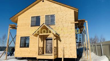 Строительство каркасного дома в деревне Бизимово Ковровского района Владимирской области