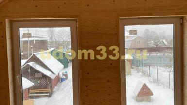 Строительство каркасного дома в п. Кокошкино Московской области