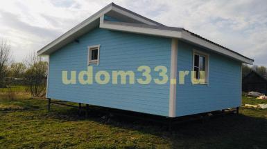 Строительство каркасного дома в д. Брянцево Владимирской области
