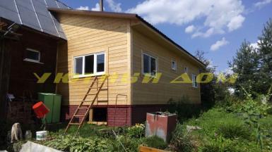 Строительство пристройки к дому в деревне Бурыкино Собинского района Владимирской области