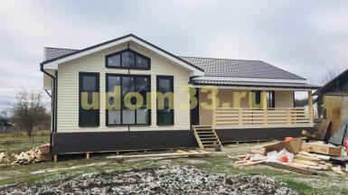 Строительство каркасного дома в селе Черкутино Собинского района Владимирской области