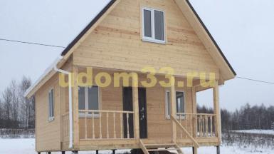 Строительство каркасного дома для круглогодичного проживания в деревне Чижово Собинского района Владимирской области