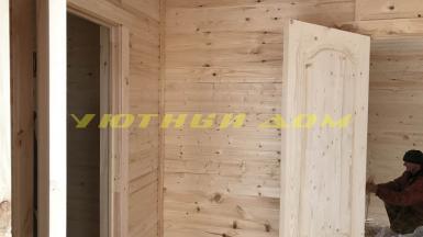 Строительство дачного дома в городе Кольчугино