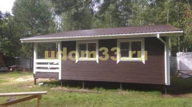 Строительство каркасного дома в д. Дальняя Павлово-Посадского района Московской области