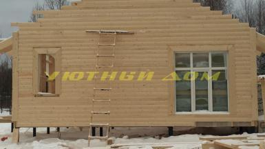 Строительство каркасного дома без отделки в деревне Даниловка Судогодского района