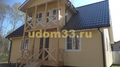 Строительство каркасного дома в д. Дашковка Серпуховского района Московской области