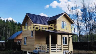Строительство каркасного дома в СНТ Диана Раменского района Московской области