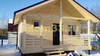 Строительство каркасного дома в СНТ Гора-89 Орехово-Зуевского района Московской области