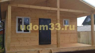 Строительство дачного каркасного дома в п. Городищи Петушинского района Владимирской области