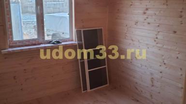 Строительство каркасного дома в деревне Городищи Меленковского района Владимирской области