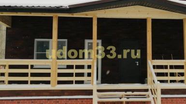 Строительство каркасного дома в г. Гусь-Хрустальный Владимирской области