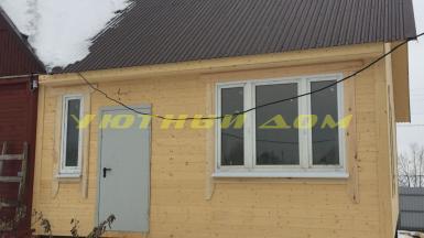 Пристрой к дому в селе Ильинское Кольчугинского района Владимирской области