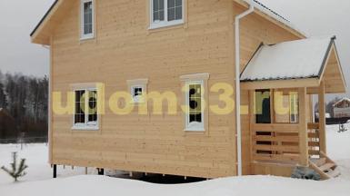 Строительство каркасного дома в коттеджном посёлке Барский луг Судогодского района Владимирской области
