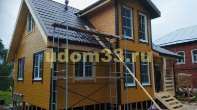Строительство каркасного дома в д. Угор Собинского района Владимирской области