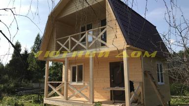 Cтроительство каркасного дома в деревне Киржач Петушинского района Владимирской области