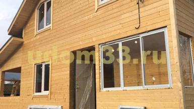 Строительство каркасного дома в СНТ Киржач-1 Владимирской области