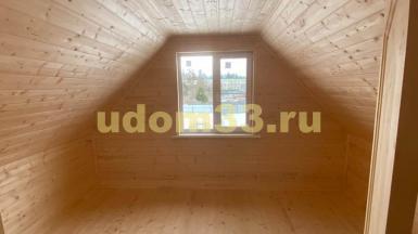 Строительство каркасного дома в г. Киржач Владимирской области