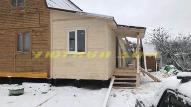 Строительство пристройки к дому в посёлке Колокша Собинского района Владимирской области