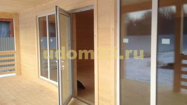 Строительство каркасного дома в г. Костерёво Владимирской области