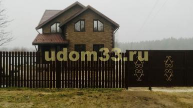 Строительство каркасного дома в посёлке Красный Октябрь Ковровского района Владимирской области