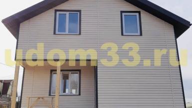 Строительство каркасного дома в деревне Красное Сущёво Суздальского района Владимирской области