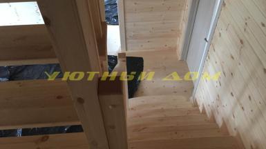 Строительство каркасного дома в селе Крутец Александровского района Владимирской области