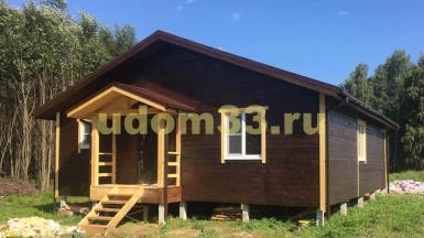 Строительство каркасного дома в д. Ляхово Ступинского района Московской области