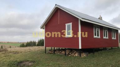 троительство каркасного дома в деревне Большое Лучинское Юрьев-Польского района Владимирской области