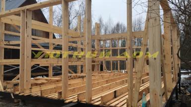 Строительство дома в СНТ «Лужки» Киржачского района