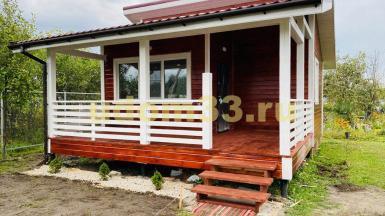 Строительство каркасного дома в п. Малыгино Ковровского района Владимирской области