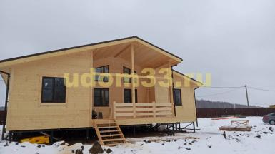 Строительство каркасного дома в деревне Мансурово городского округа Домодедово Московской области
