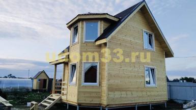 Строительство каркасного дома в деревне Назарьево Павлово-Посадского района Московской области