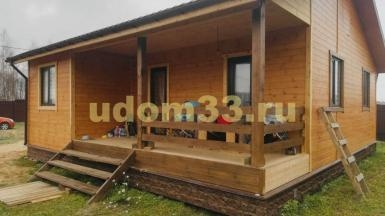 Строительство каркасного дома в деревне Назимиха Щёлковского района Московской области