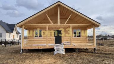 Строительство каркасного дома в Ногинском районе Московской области