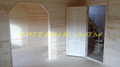 Строительство дома для круглогодичного проживание в деревне Новая Быковка Камешковского района Владимирской области